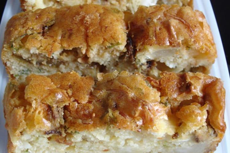 Cake chèvre-courgette
