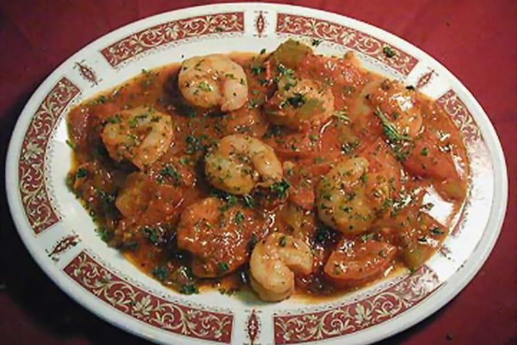 Crevettes Lafayette