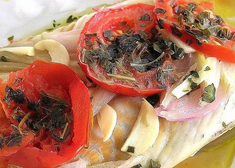 Recette de papillote de colin la proven ale la recette - Cuisiner du colin surgele ...