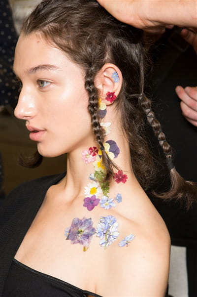 Preen By Thornton Bregazzi (Backstage) - Printemps-été 2017