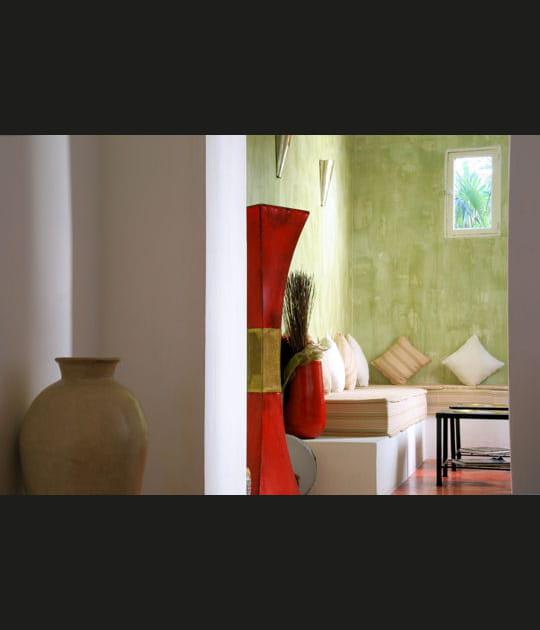 Un salon à la marocaine