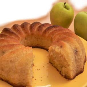 couronne épicée aux pommes