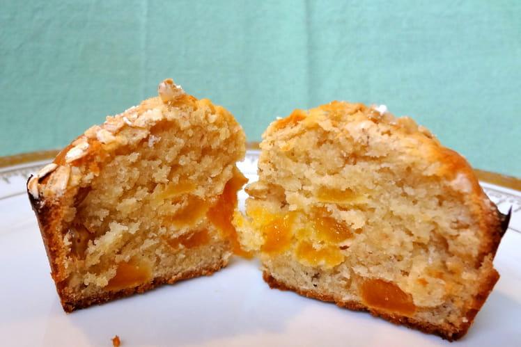 Mini muffins aux fruits secs et flocons d'avoine