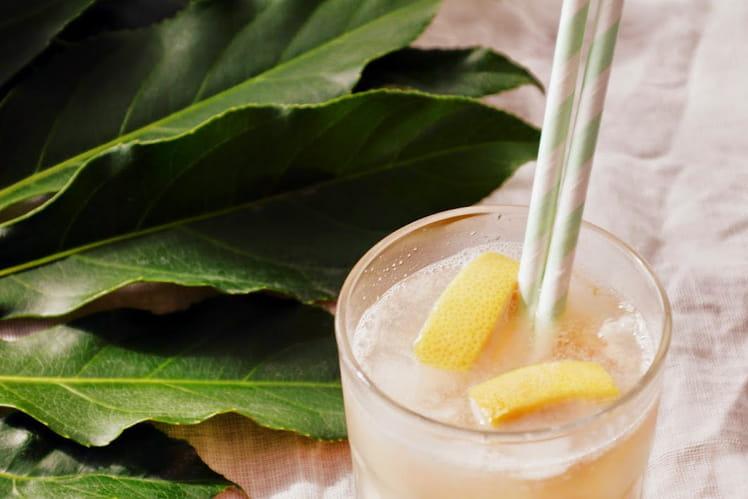 Cocktail caïpirinha pamplemousse