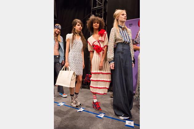 Anna Sui (Backstage) - photo 49