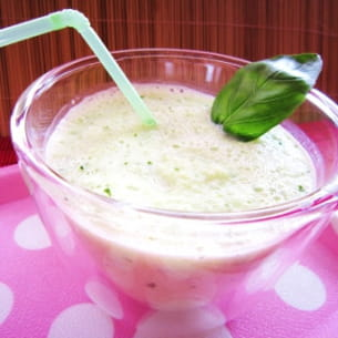smoothie de concombre