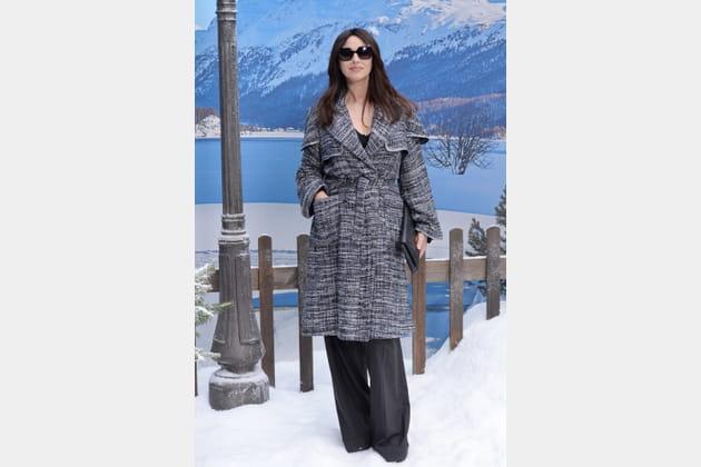 Monica Bellucci au défilé Chanel