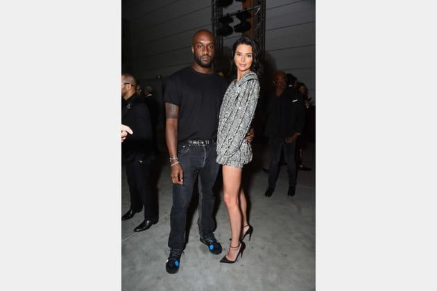 Kendall Jenner en robe-sweat extra courte brodée de sequins