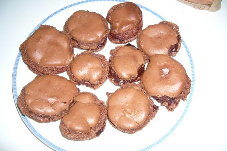 Macarons fondants au chocolat