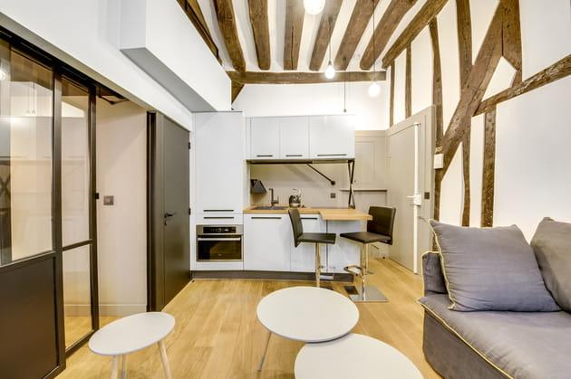 Après: une cuisine moderne et lumineuse