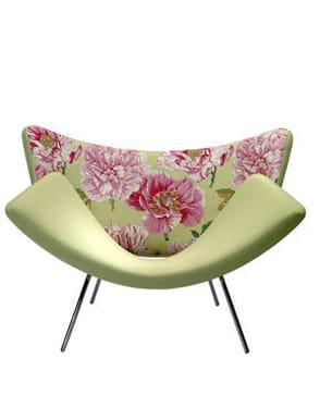 le fauteuil 'butterfly kiss' de christian ghion pour sawaya et moroni