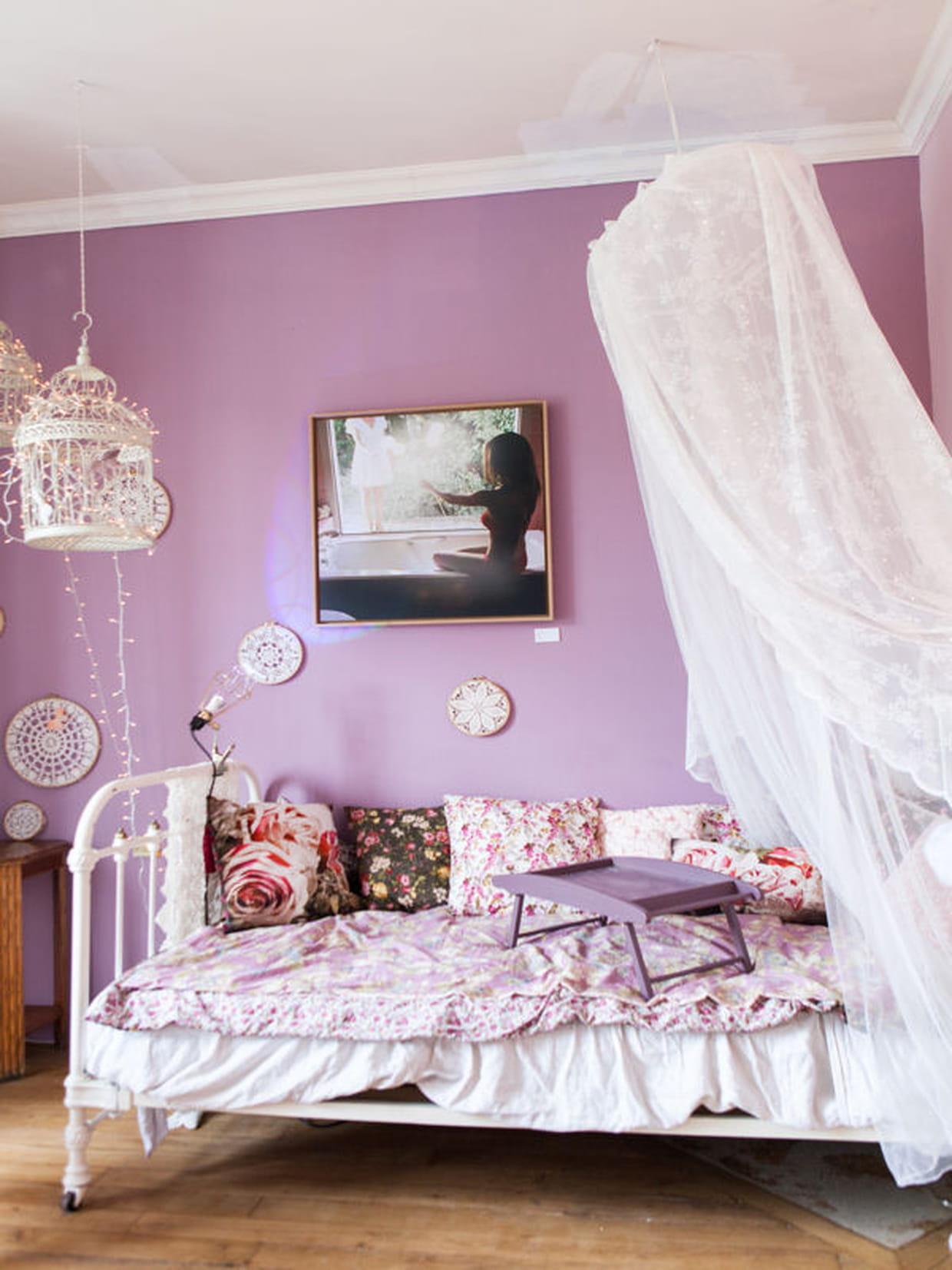 ambiance romantique. Black Bedroom Furniture Sets. Home Design Ideas