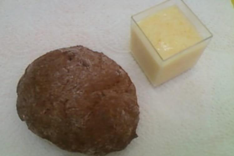 Petits pains au lait chocolat et sa mousse