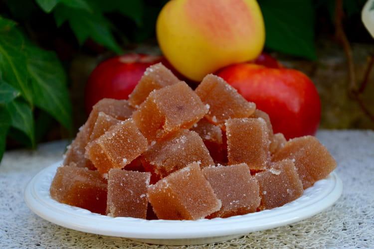 Pâte de fruits aux pommes