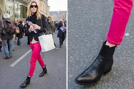 Fashion week : les street looks des défilés parisiens PAP automne-hiver 2011-2012 55