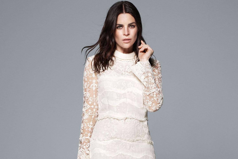 Julia Restoin Roitfeld, égérie des robes de mariée H&M