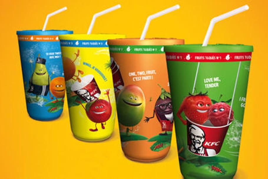 KFC : de nouveaux produits et des kups en cadeau