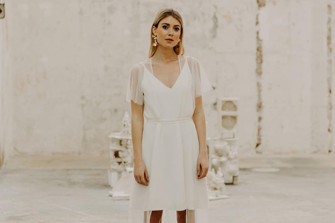 5a306226055 40 robes de mariée civiles pour dire Oui à la mairie
