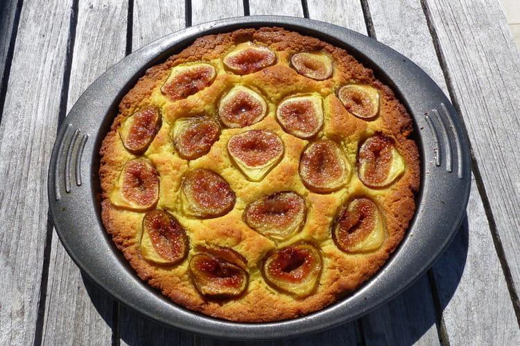 Gâteau aux figues à l'huile d'olive