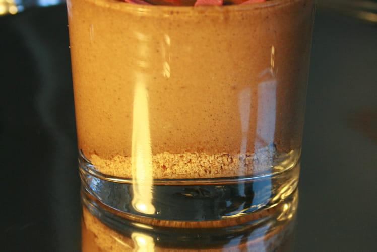 Mousse chocolat au lait et fève tonka