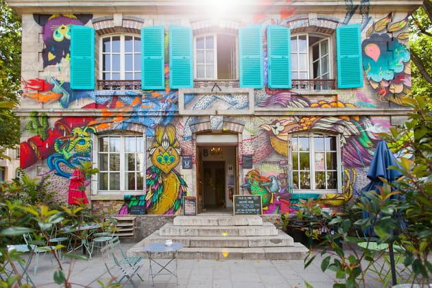 Une façade multicolore