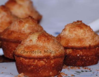 muffins noix de coco et vanille