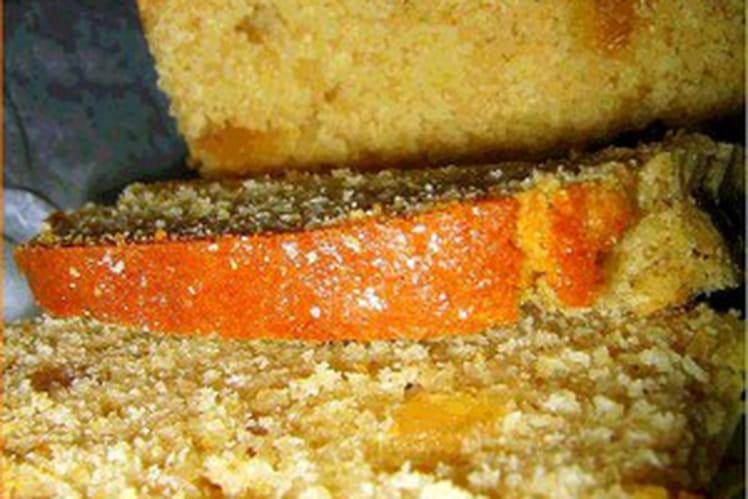Cake aux poires confites