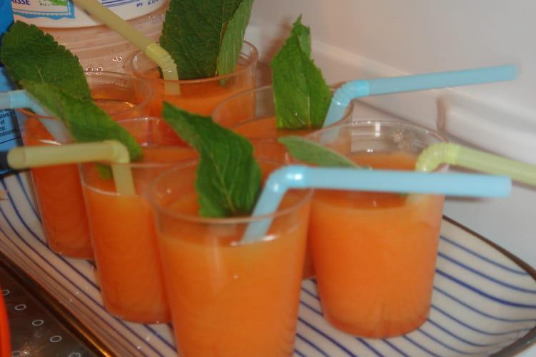Verrines de melon
