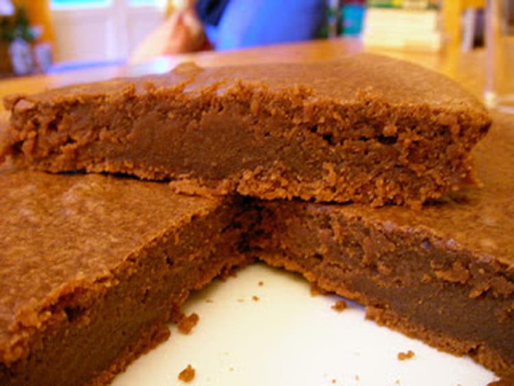 Cake Fondant Marrons Chocolat