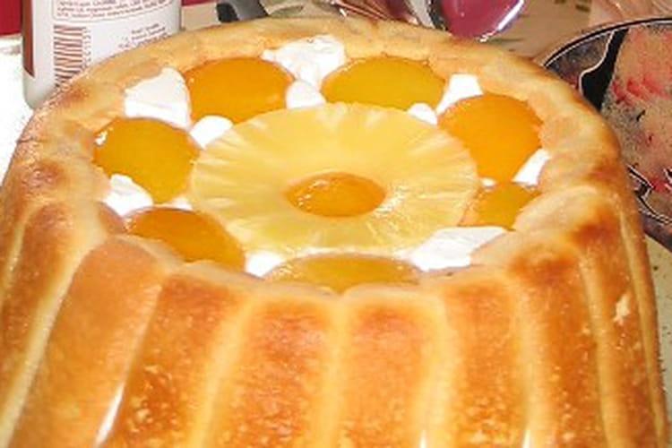 Charlotte abricot ananas