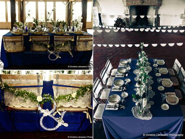 Une décoration de table soignée