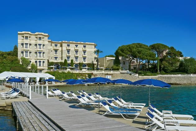 L'hôtel Belles Rives à Juan-les-Pins en Alpes-Maritimes