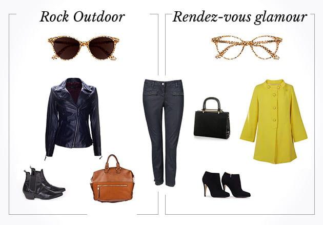 Rock outdoor VS rendez-vous glamour