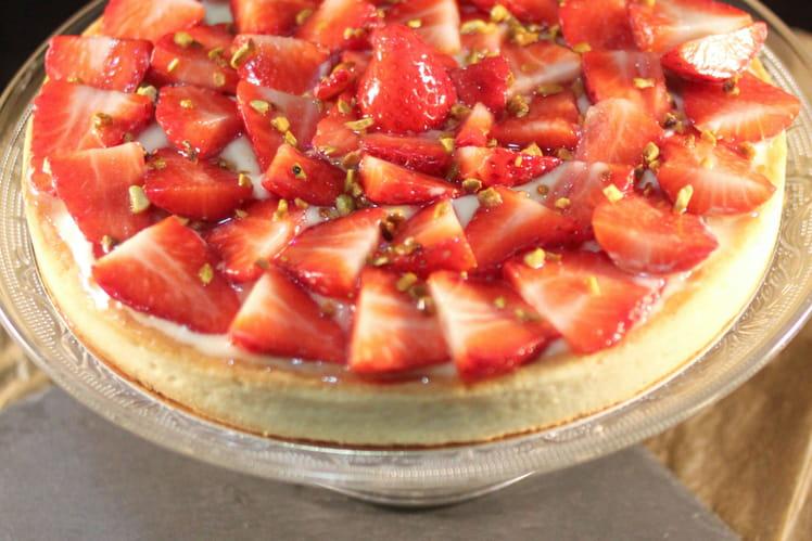 Tarte aux fraises magique