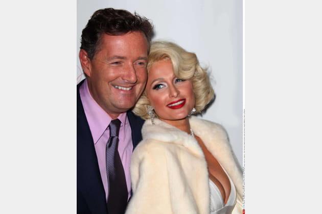 Piers Morgan et Paris Hilton