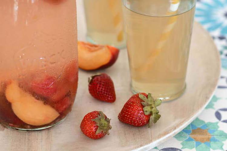Thé glacé aux fruits d'été