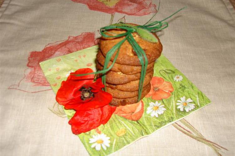 Cookies au sirop de coquelicot et éclats de chocolat blanc