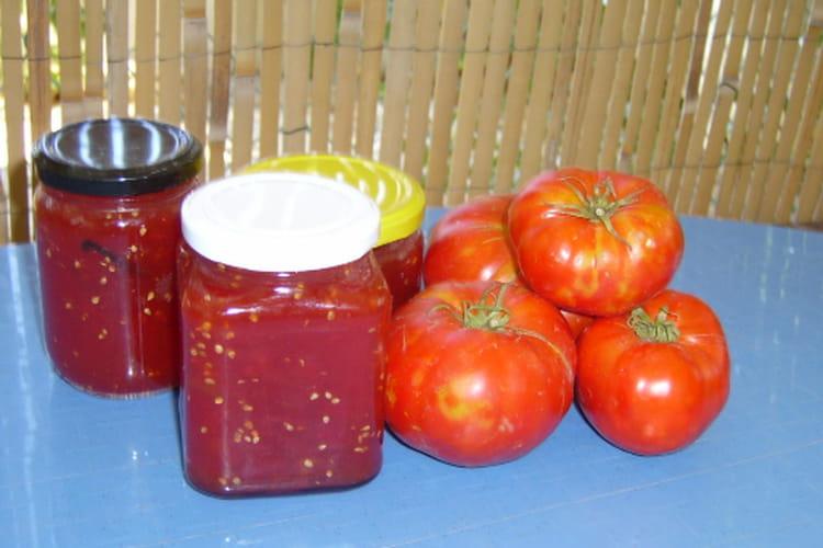 Confiture de tomates du jardin