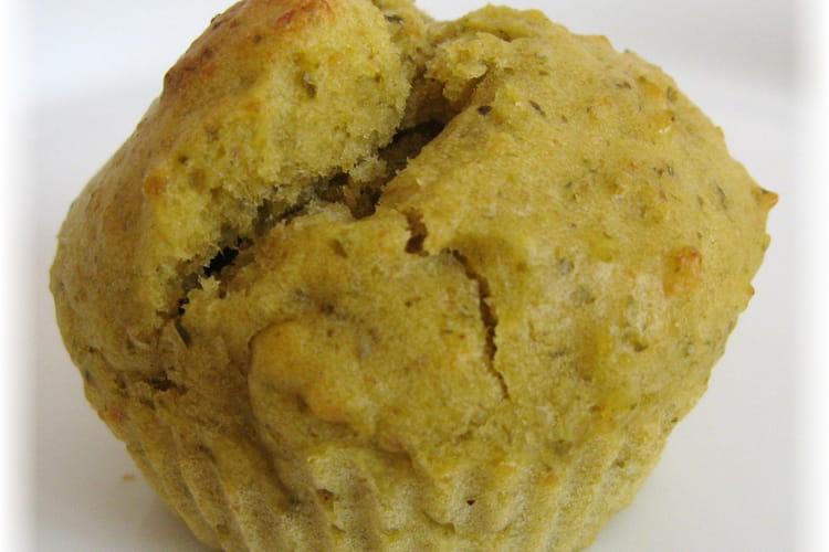 Muffins saumon pesto