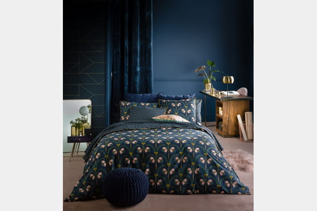 linge de lit belladone de la redoute int rieurs. Black Bedroom Furniture Sets. Home Design Ideas