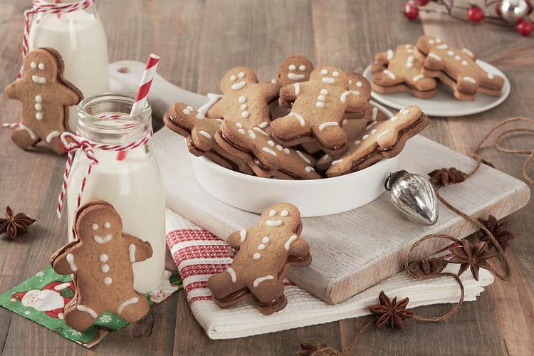 Bonhommes aux épices de Noël et au Nutella®