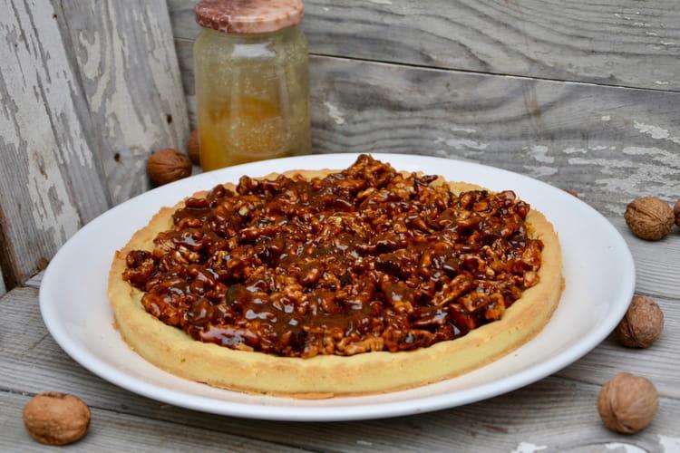 Tarte aux noix et au miel