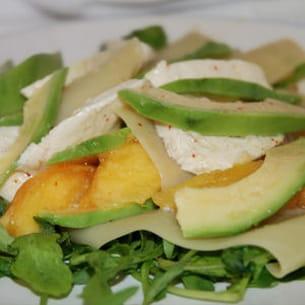 salade fruitée à l'avocat