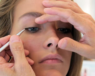l'eye liner structure l'oeil