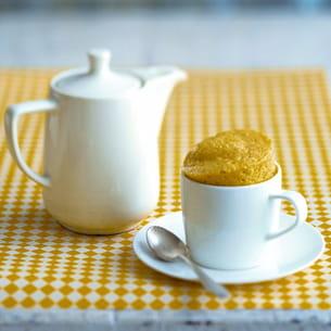 mug cake citron au sucre pétillant