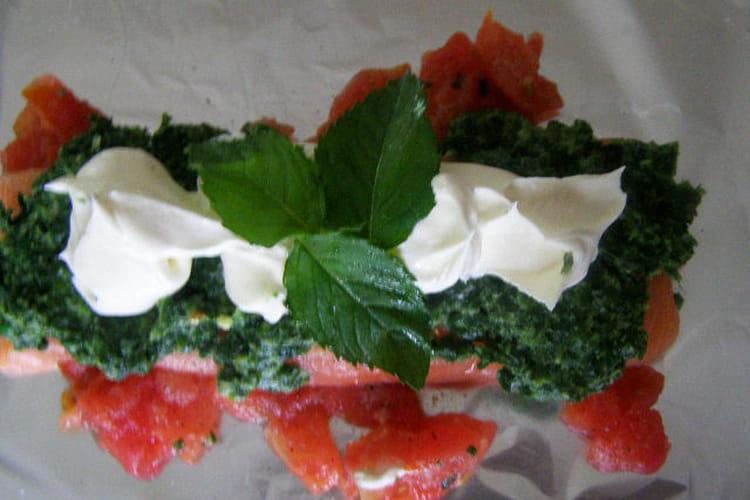 Filets de saumon en papillotes