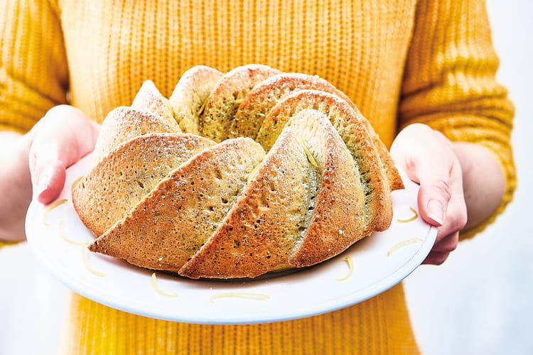 Bundt cake citron -pavot
