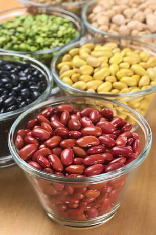 la plupart des légumes secs sont riches en fibres.
