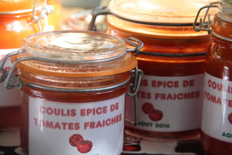 Coulis épicé de tomates