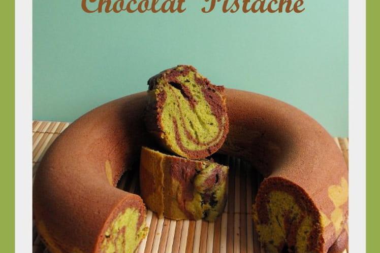 Marbré au cacao et à la pistache